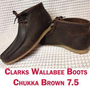 Clarks Originals Men's Wallabee Steep Boot 7.5